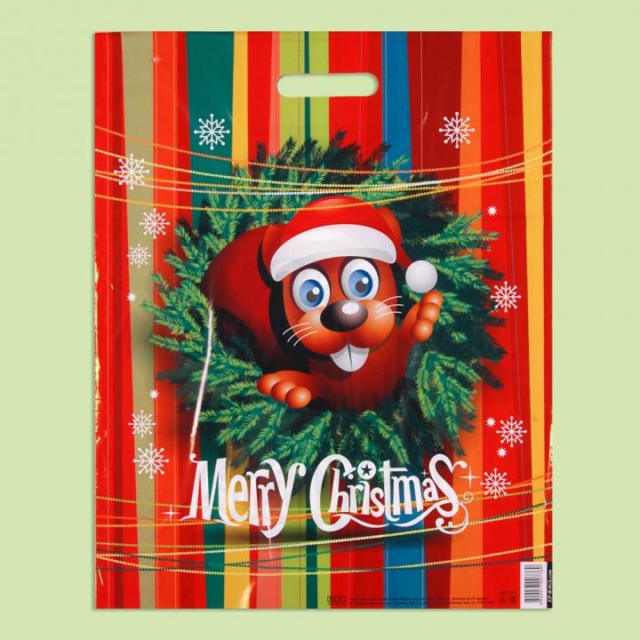 """Чанта """"Детска Коледна"""" - Чанти от полиетилен"""