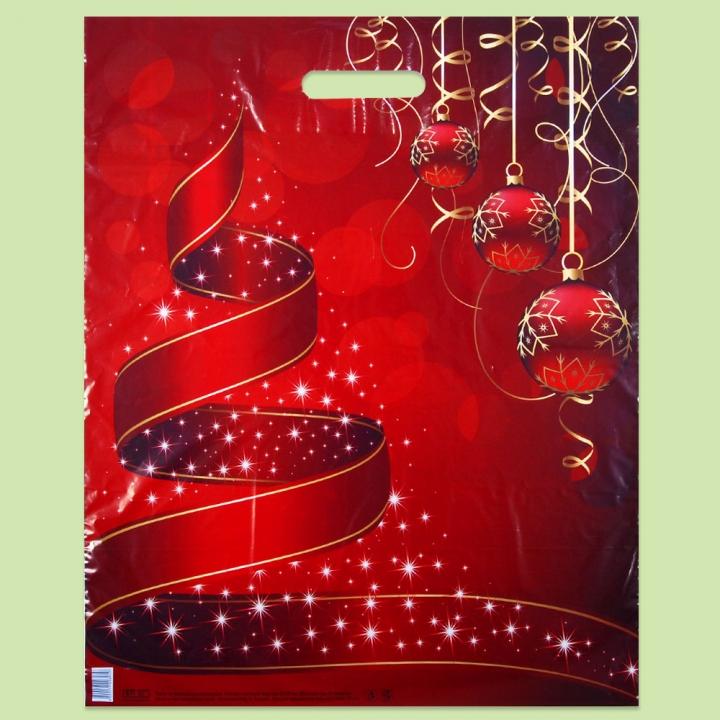 Весели Празници - Чанти от полиетилен