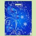 """Коледа и Нова година - Чанта """"Коледни орнаменти"""""""