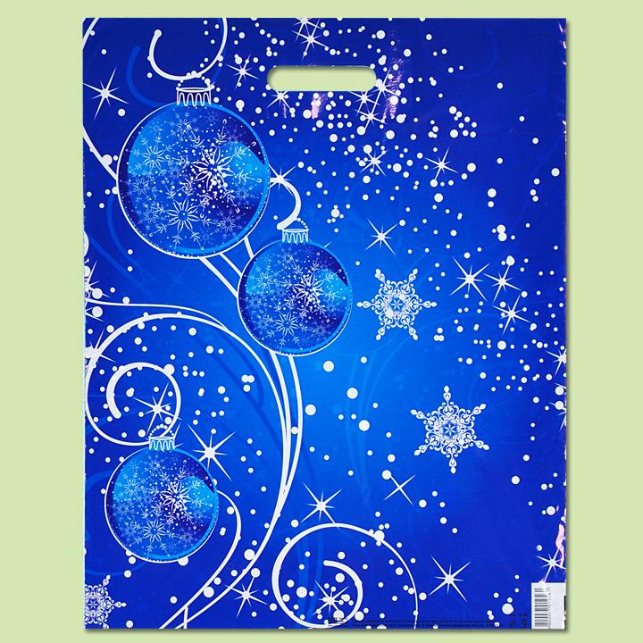 """Чанта """"Коледни орнаменти"""" - Чанти от полиетилен"""
