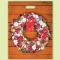 """Коледа и Нова година - Чанта """"Коледен венец"""""""