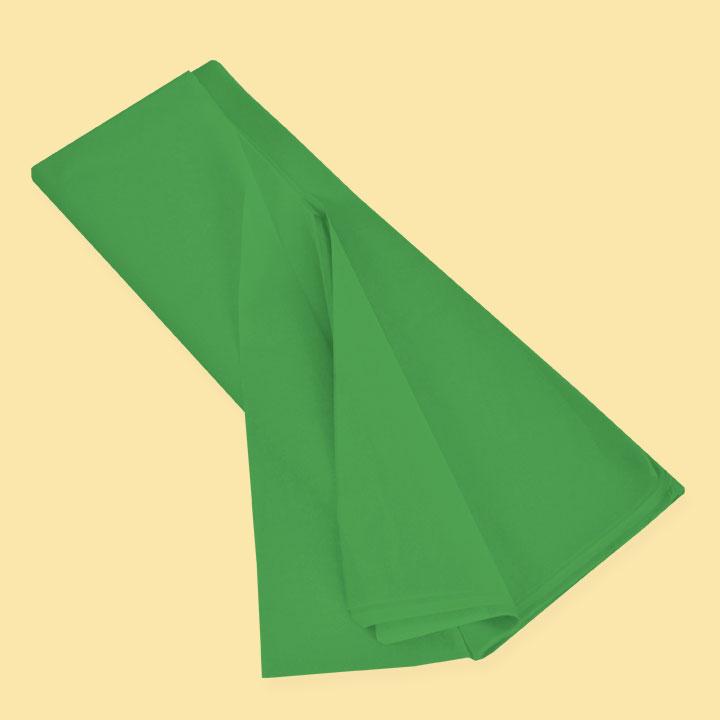 Тишу хартия 50х75 (20 бр), зелен  SC L355 - За подаръци и цветя