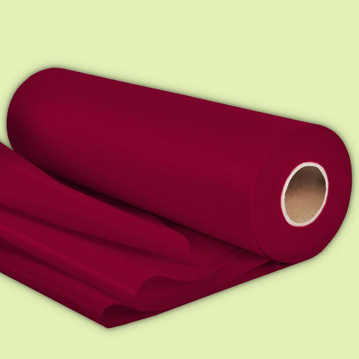 Нетъкан текстил за цветя БОРДО, 50м - За подаръци и цветя