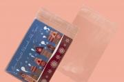 Коледа и Нова година - Плик за поздравителна картичка