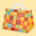"Стандартни хартиени чанти - Хартиена чанта с широко дъно ""Take away"""