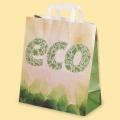 """Стандартни хартиени чанти - Хартиена чанта с печат """"ECO"""""""