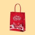 Коледа и Нова година - Коледен сняг, червена S1-456