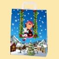 "Коледа и Нова година - Хартиена чанта ""Коледен празник"""