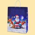 Коледа и Нова година - Дядо Коледа и неговите елени XXL1-98