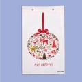 """Коледа и Нова година - Празничен плик """"Рудолф"""""""